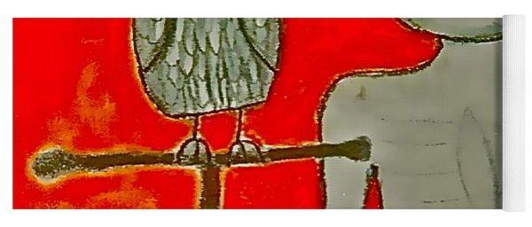 The Hollow Men 88 - Bird Yoga Mat