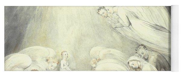 The Infant Jesus Saying His Prayers Yoga Mat