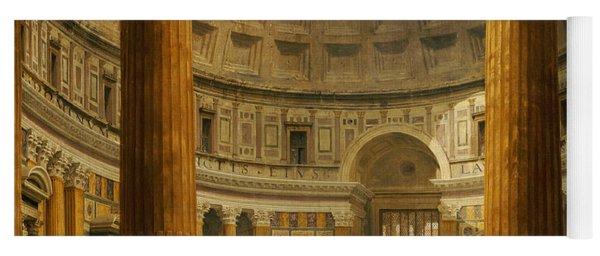 The Interior Of The Pantheon Yoga Mat