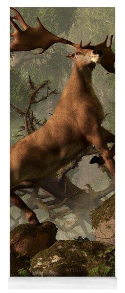The Irish Elk Yoga Mat