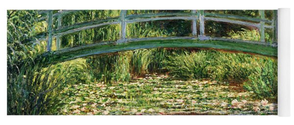 The Japanese Footbridge And The Water Lily Pool Giverny Yoga Mat