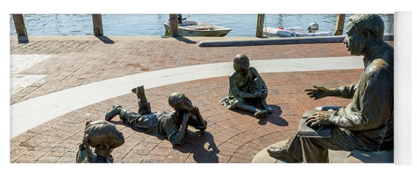 The Kunta Kinte-alex Haley Memorial In Annapolis Yoga Mat