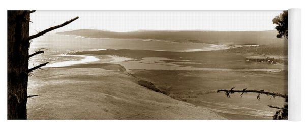 The Lagoon At The Mouth Of The Carmel River  From Fish Ranch California 1905 Yoga Mat