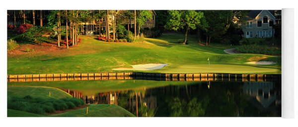 Golf At The Landing #3 In Reynolds Plantation On Lake Oconee Ga Yoga Mat
