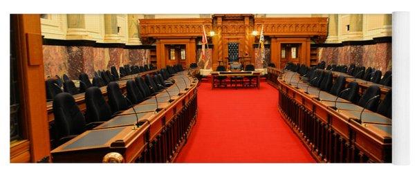 The Legislature Victoria Bc Yoga Mat