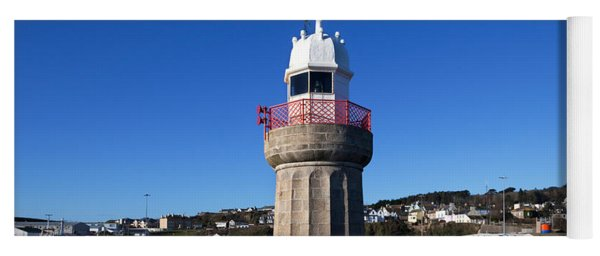The Lighthouse And Fishing Harbour Yoga Mat