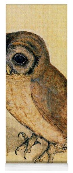 The Little Owl Yoga Mat