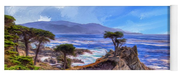 The Lone Cypress Yoga Mat