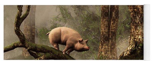 The Lost Pig Yoga Mat