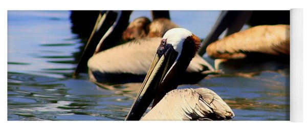 The Lovely Pelican  Yoga Mat