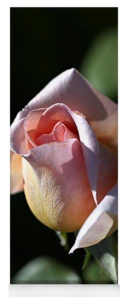 The Morning Pink Rose Yoga Mat