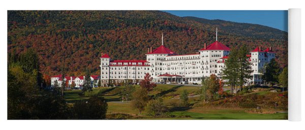The Mount Washington Hotel In Autumn Yoga Mat