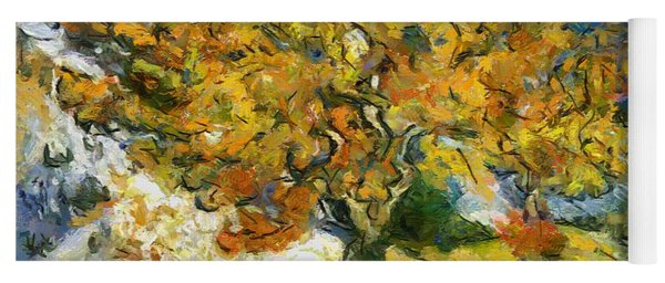 The Mulberry Tree After Van Gogh Yoga Mat