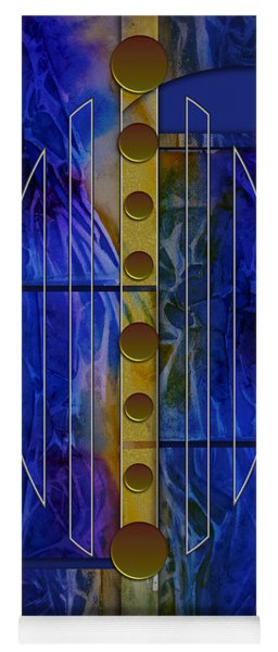 The Musical Abstraction Yoga Mat