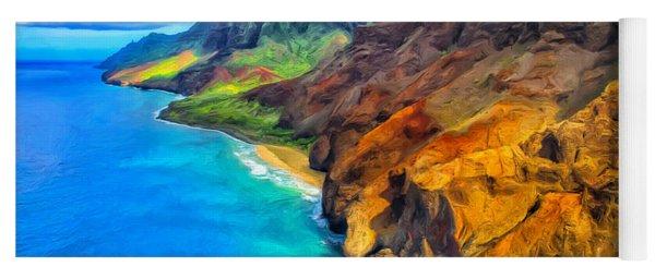 The Na Pali Coast Of Kauai Yoga Mat