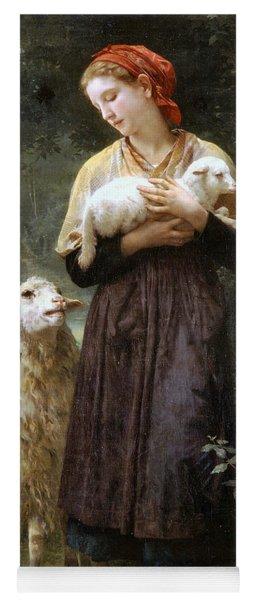 The Newborn Lamb Yoga Mat