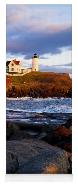 The Nubble Lighthouse Yoga Mat