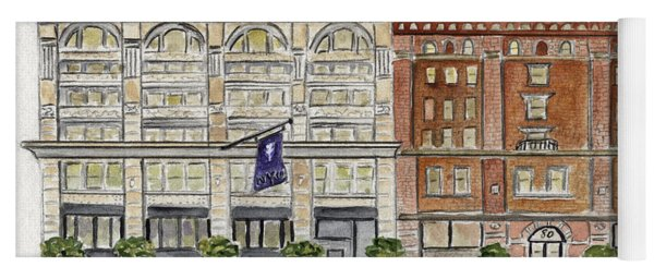 The Nyu Steinhardt Pless Building Yoga Mat