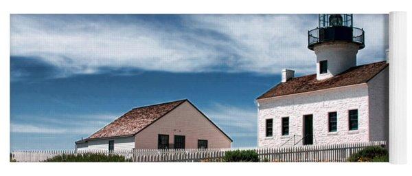 The Old Point Loma Lighthouse By Diana Sainz Yoga Mat