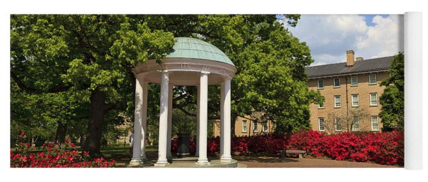 The Old Well At Chapel Hill Campus Yoga Mat