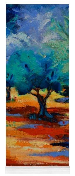 The Olive Trees Dance Yoga Mat