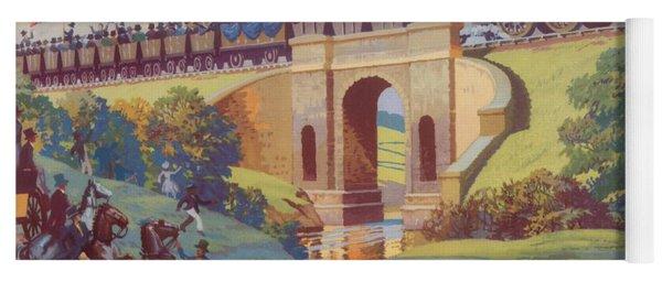 The Opening Of The Stockton And Darlington Railway Macmillan Poster Yoga Mat