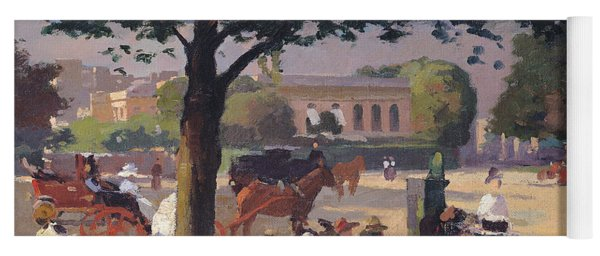 The Palais Rose, Paris Oil On Canvas Yoga Mat