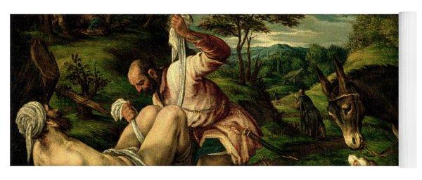 The Parable Of The Good Samaritan Yoga Mat