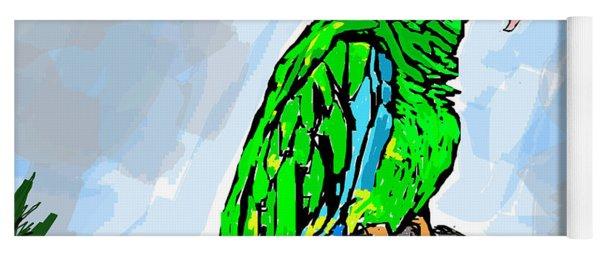 The Parrot Yoga Mat