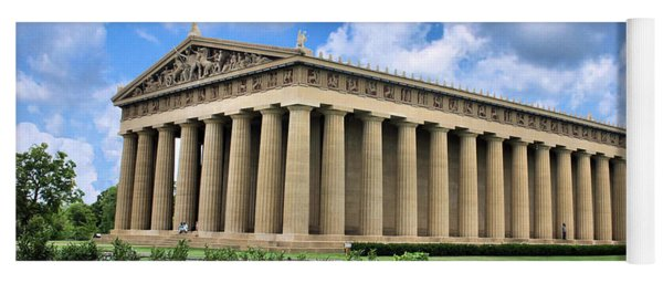 The Parthenon Yoga Mat