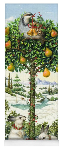 The Partridge In A Pear Tree Yoga Mat