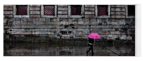 The Pink Umbrella Yoga Mat