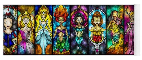 The Princesses Yoga Mat