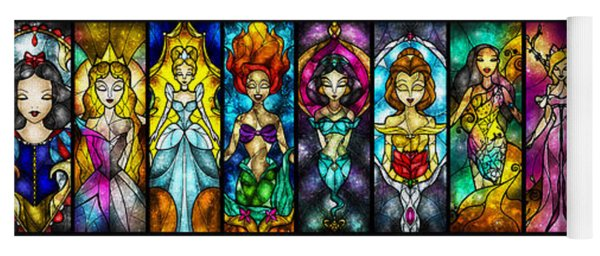 The Princesses Yoga Mat