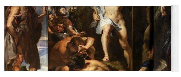 The Resurrection Of Christ Yoga Mat