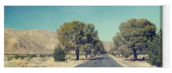 The Roads We Travel Yoga Mat