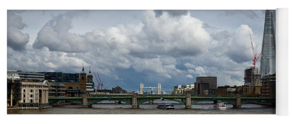 The Shard And Thames View Yoga Mat