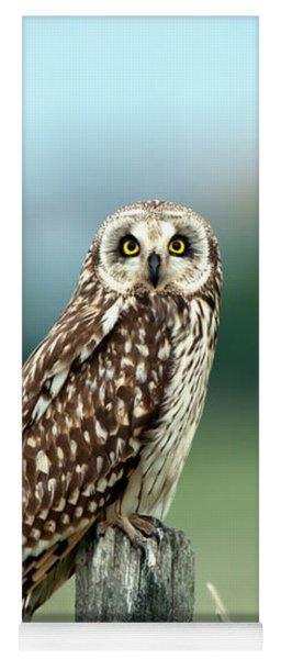 The Short-eared Owl  Yoga Mat