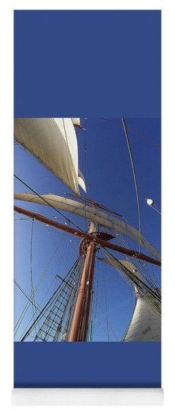 The Star Of India. Mast And Sails Yoga Mat