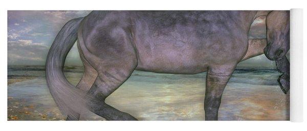 The Sunrise Horse Yoga Mat