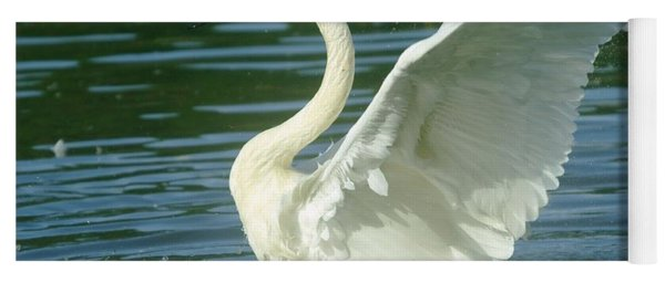 The Swan Rises  Yoga Mat