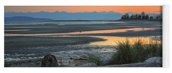 The Tide Is Low Yoga Mat