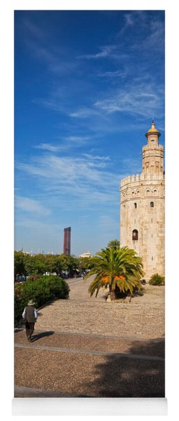The Torre Del Oro, Gold Tower, Military Yoga Mat
