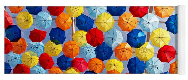 The Umbrella Sky Yoga Mat