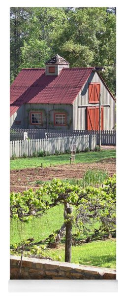 The Vineyard Barn Yoga Mat