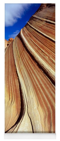 The Wave, Navajo Sandstone Formation Yoga Mat