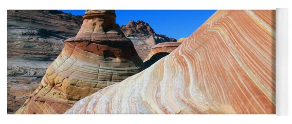'the Wave' North Coyote Buttes 10 Yoga Mat