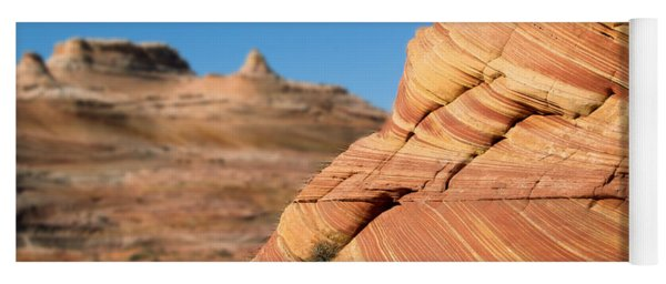 'the Wave' North Coyote Buttes 13 Yoga Mat