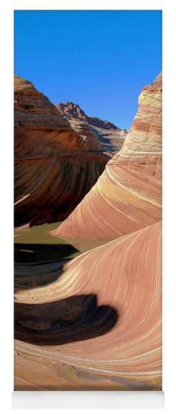'the Wave' North Coyote Buttes 19 Yoga Mat