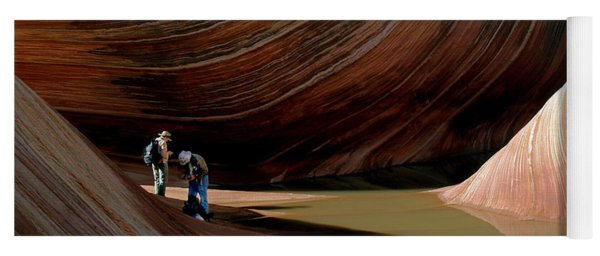 'the Wave' North Coyote Buttes 44 Yoga Mat
